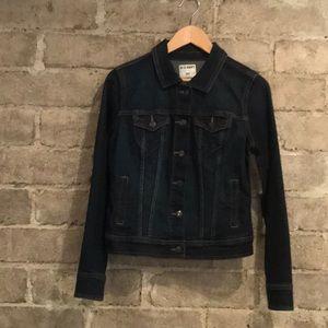 Old Navy Dark Denim Jean Jacket Size Size S